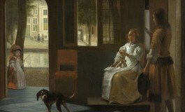 تصویری که تیم کوک را شگفتزده کرد: وجود یک آیفون در نقاشی قرن ۱۷ میلادی!
