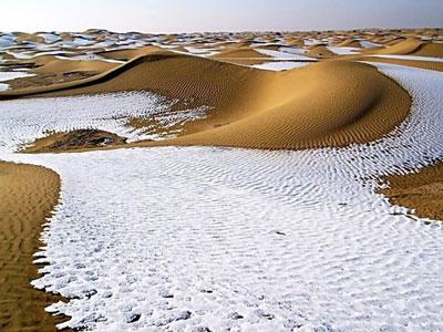 Sahara-Snow