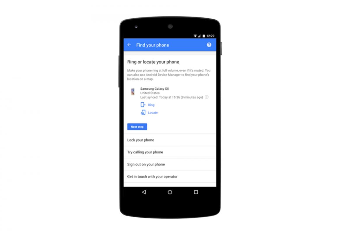 گوگل بهدنبال تسهیل فرآیند یافتن گوشیهای مفقود شده است!