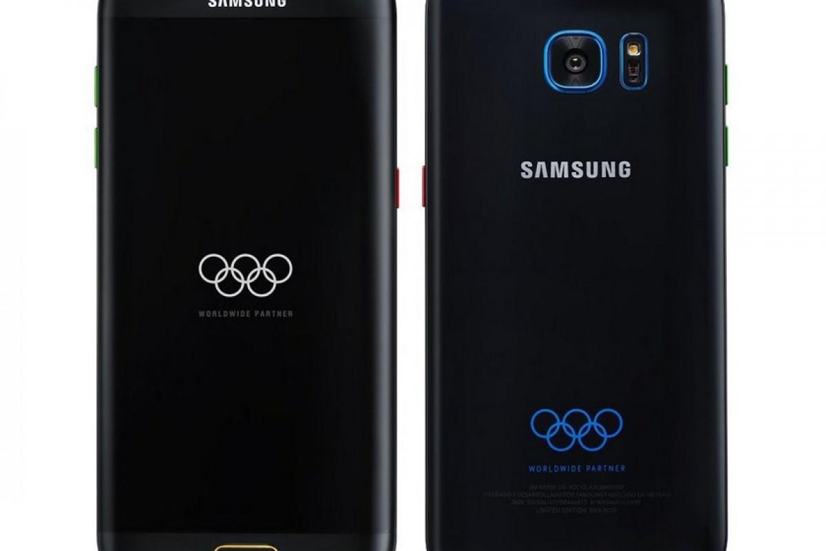 نسخه مخصوص المپیک گلکسی S7 Edge را ببینید