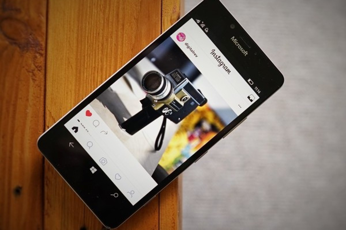 آپدیت جدید اینستاگرام برای گوشیهای ویندوزی