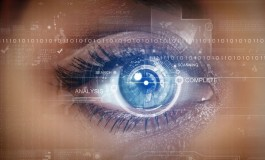 استفاده از اسکنر عنبیه چشم در گوشیهای میانرده