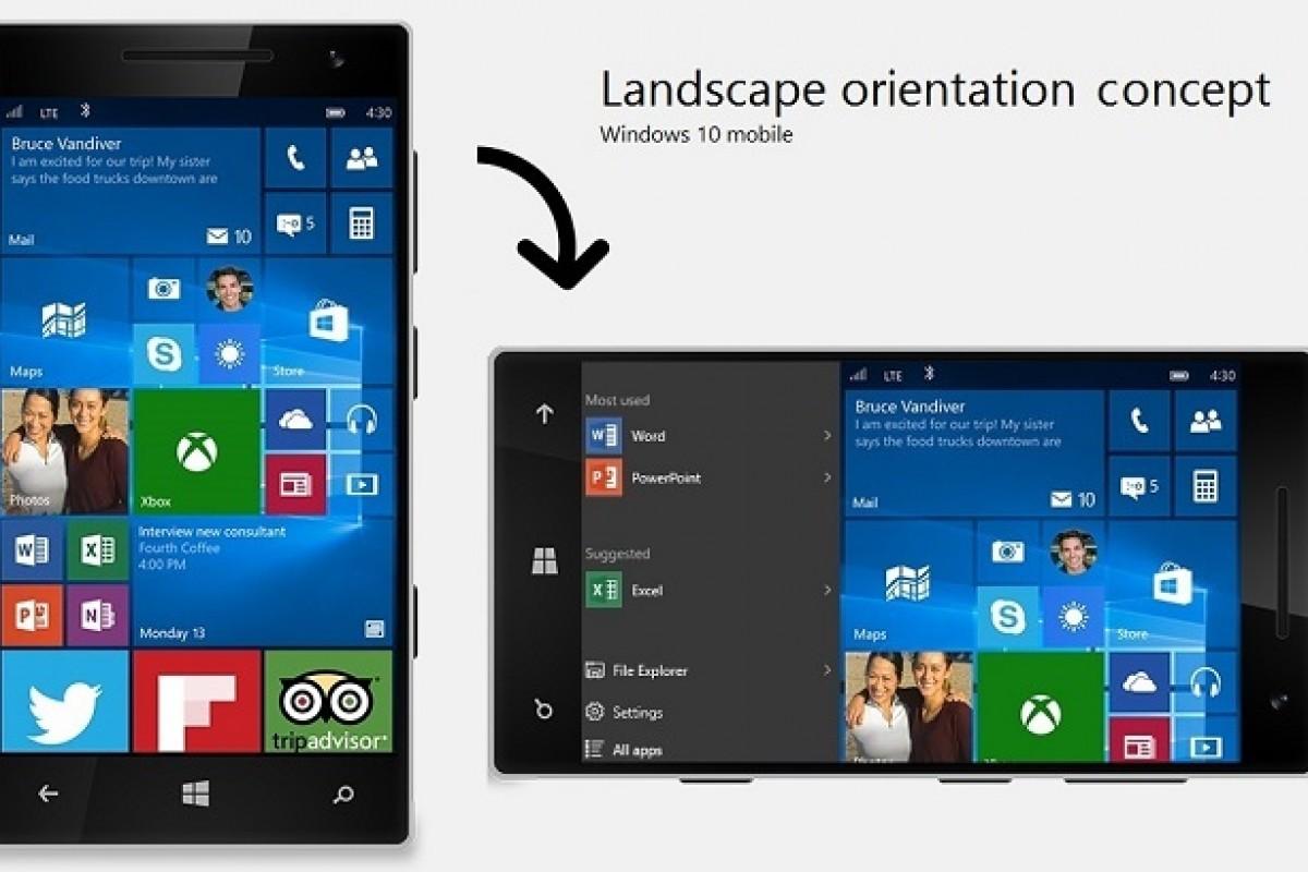 بهترین راه حل برای افزودن منو استارت افقی به ویندوز ۱۰ موبایل