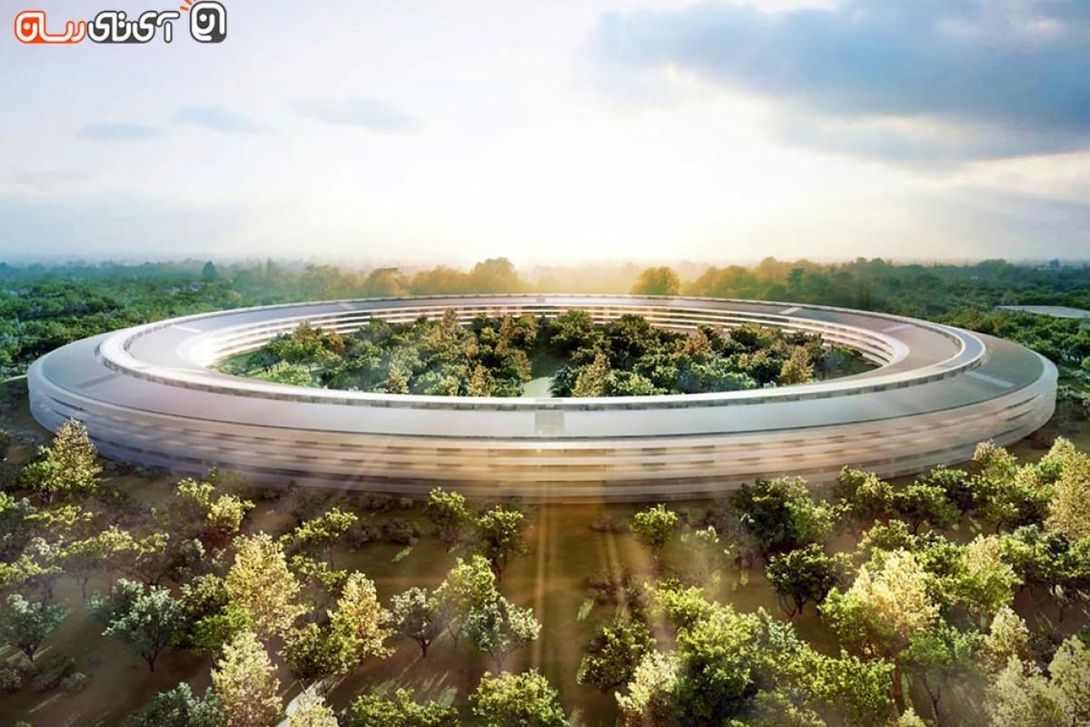 پروژه ساخت Apple Campus 2 به مراحل پایانی خود نزدیک میشود