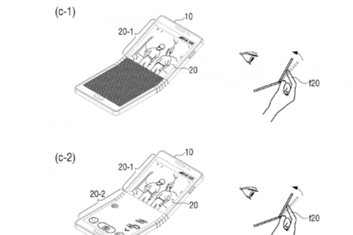 پتنت جدید سامسونگ از گوشیهای هوشمند انعطافپذیر با بازوی مصنوعی خبر میدهد