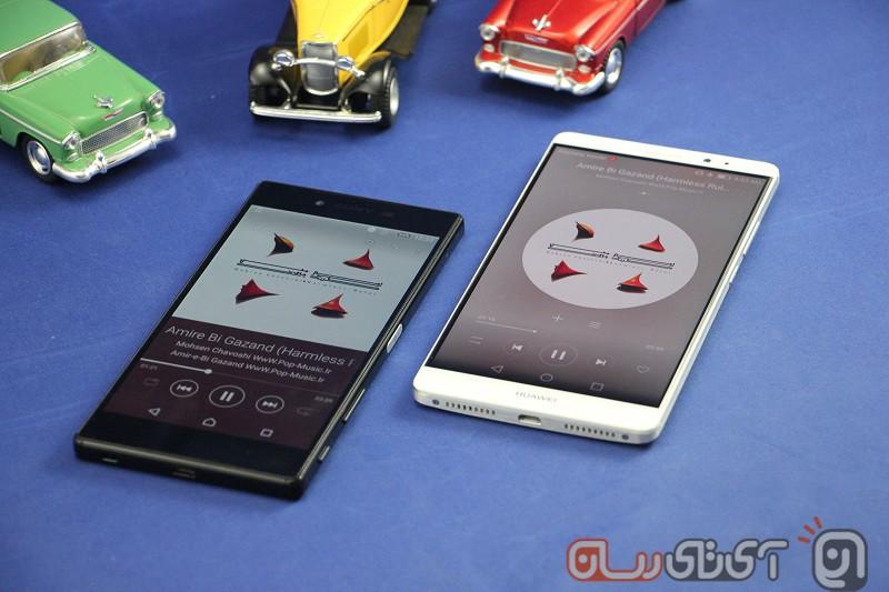 Sony Xperia Z5 VS Huawei Mate 8 (1)