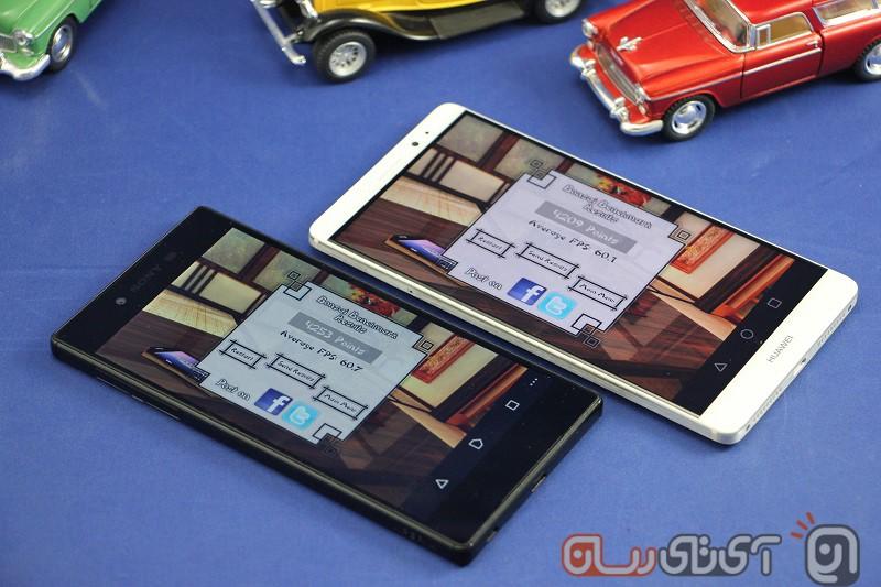 Sony Xperia Z5 VS Huawei Mate 8 (8)