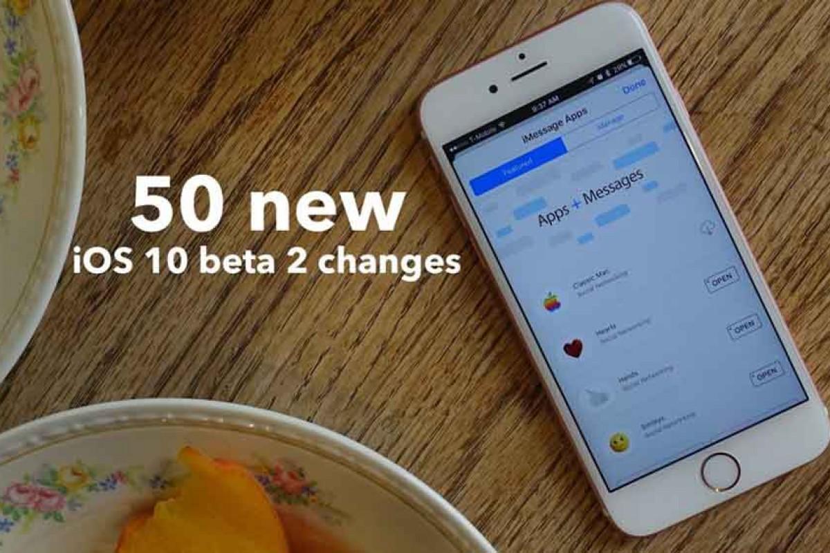 معرفی قابلیتهای جدید iOS 10 beta 2