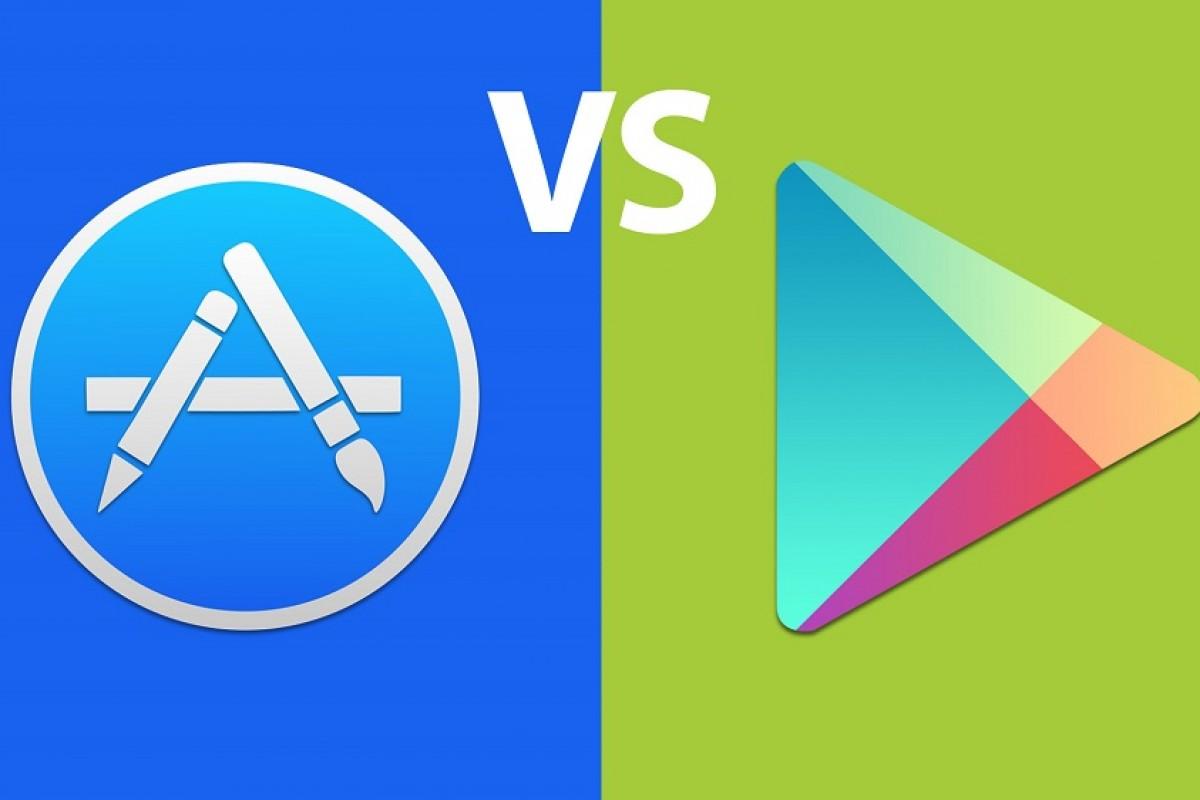 درآمد ۴ برابری اپلیکیشنهای iOS نسبت به اندروید