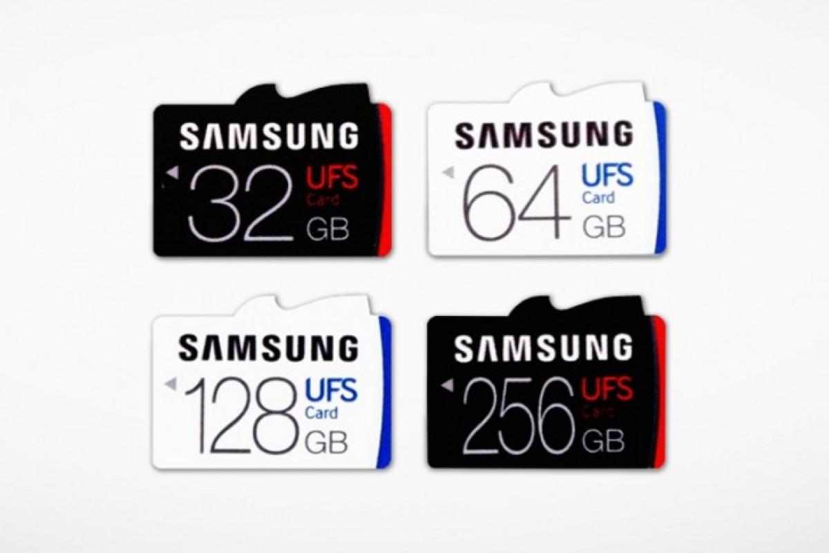 سامسونگ و ساخت شیار کارت حافظه سازگار با حافظههای Micro SD و UFS