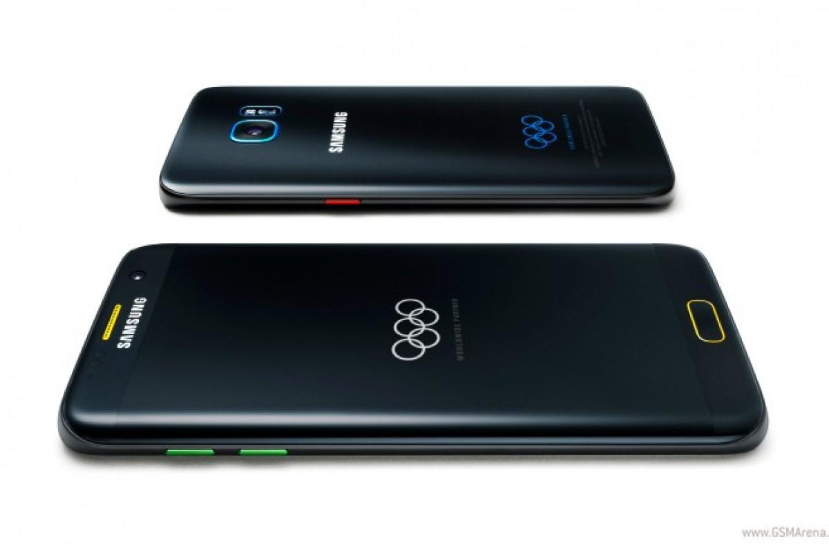 نسخه ویژه المپیک گلکسی S7 Edge از راه رسید