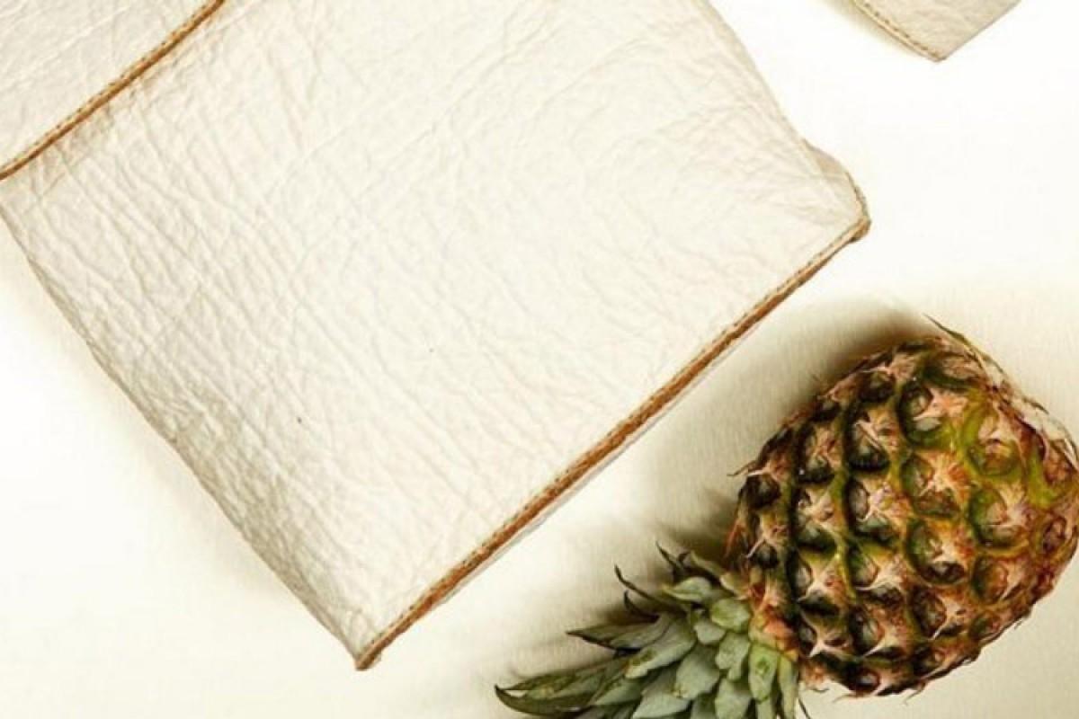 استفاده از برگ آناناس برای تولید روکش صندلی خودرو