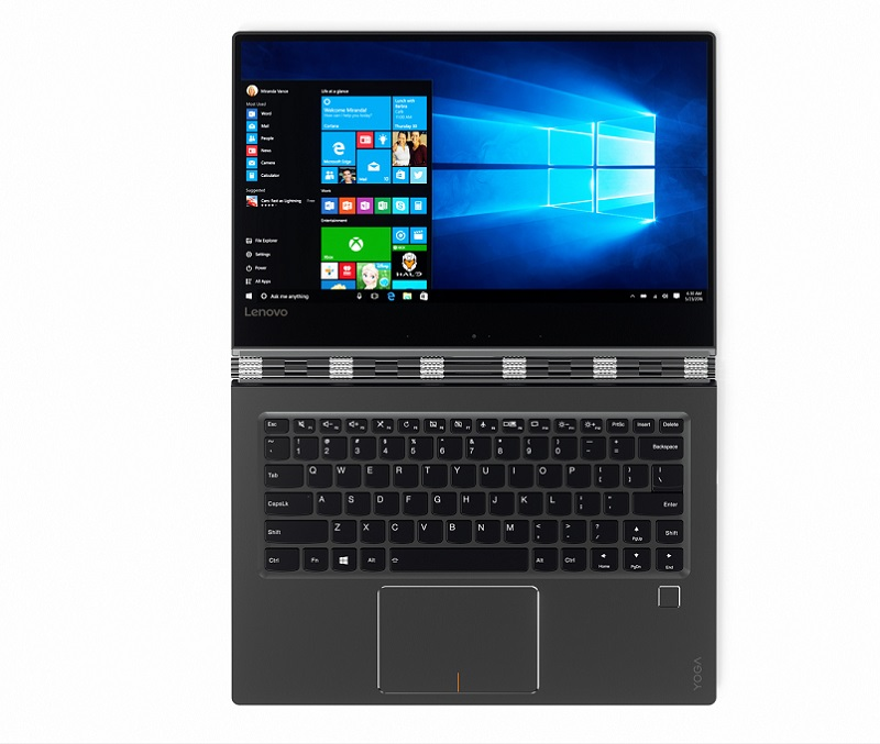 ۱۳_YOGA_910_14-Inch_Tour_Shot_Front_Gunmetal_Windows_10_screenfill (1)