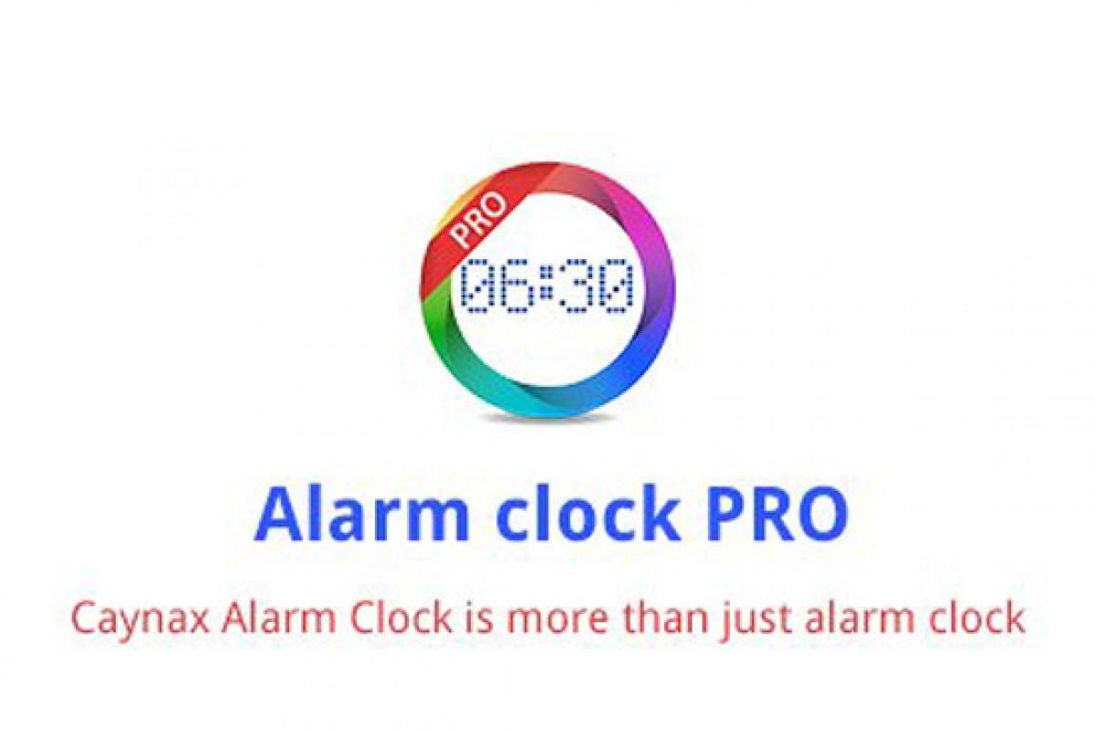 معرفی اپلیکیشن Caynax Alarm Clock PRO: ساعت زنگدار اندروید با قابلیتهای ویژه