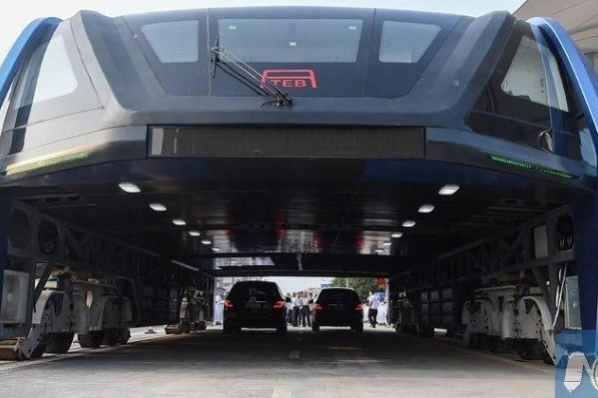 اتوبوس تونلی چینیها به مرحله آزمایش رسید!