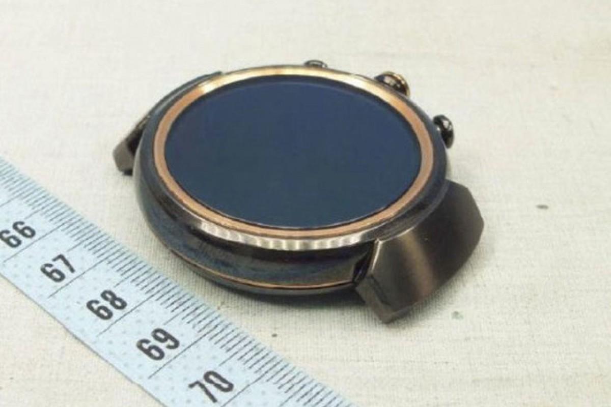 تصاویر جدید منتشر شده از زنواچ ۳ ایسوس صفحهنمایش دایرهای را تایید میکند