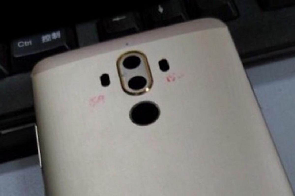تصاویری از قاب پشتی هواوی میت ۹ با دوربین دوگانه