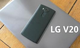 گوشی جدید الجی V20، اولین گوشی هوشمند دنیا با اندروید ۷ نوقا