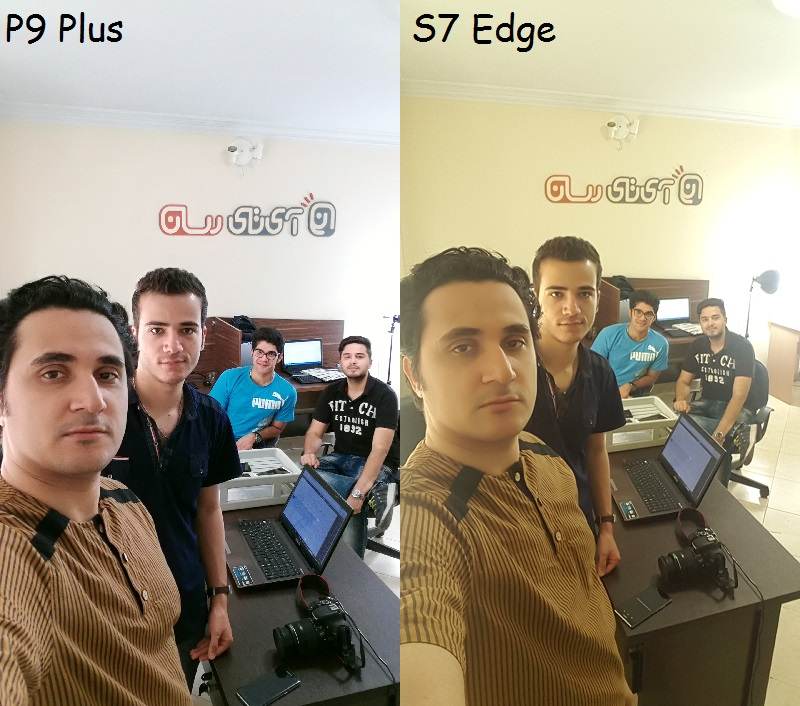 S7 Edge VS P9 Plus