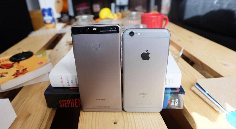 huawei-p9-vs-iPhone-6s