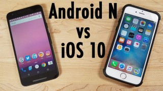 ۵ ویژگی برتر اندروید نوقا نسبت به iOS 10