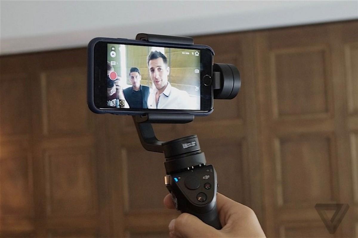 شرکت DJI از یک تثبیتکننده جدید برای گوشیهای هوشمند پرده برداشت