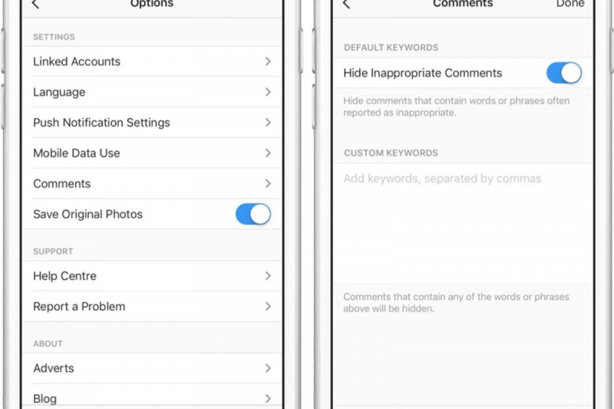چگونه از قابلیت فیلترینگ کامنت در اینستاگرام استفاده کنیم؟