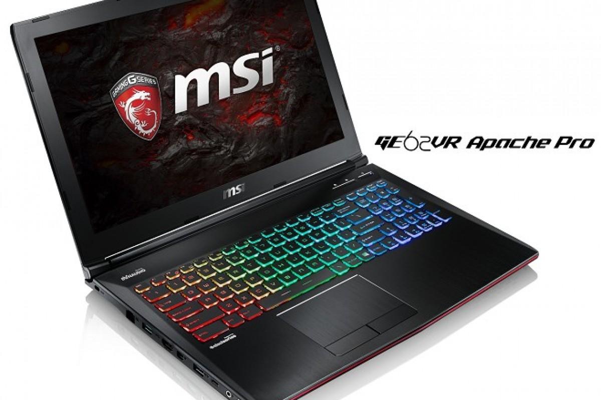 لپتاپهای جدید MSI با گرافیک سری GTX 10، کلیشه قدرت کامپیوترهای دسکتاپ را شکستند