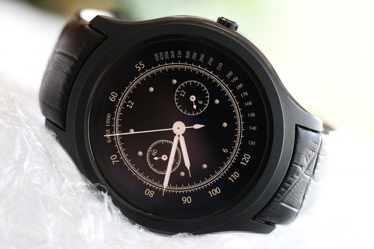 ساعت هوشمند نامبروان +D5: گرد و زیبا