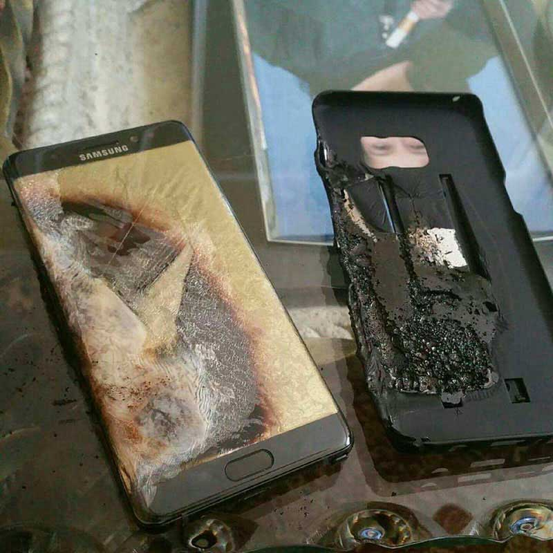 Samsung-Galaxy-Note-7-Burned