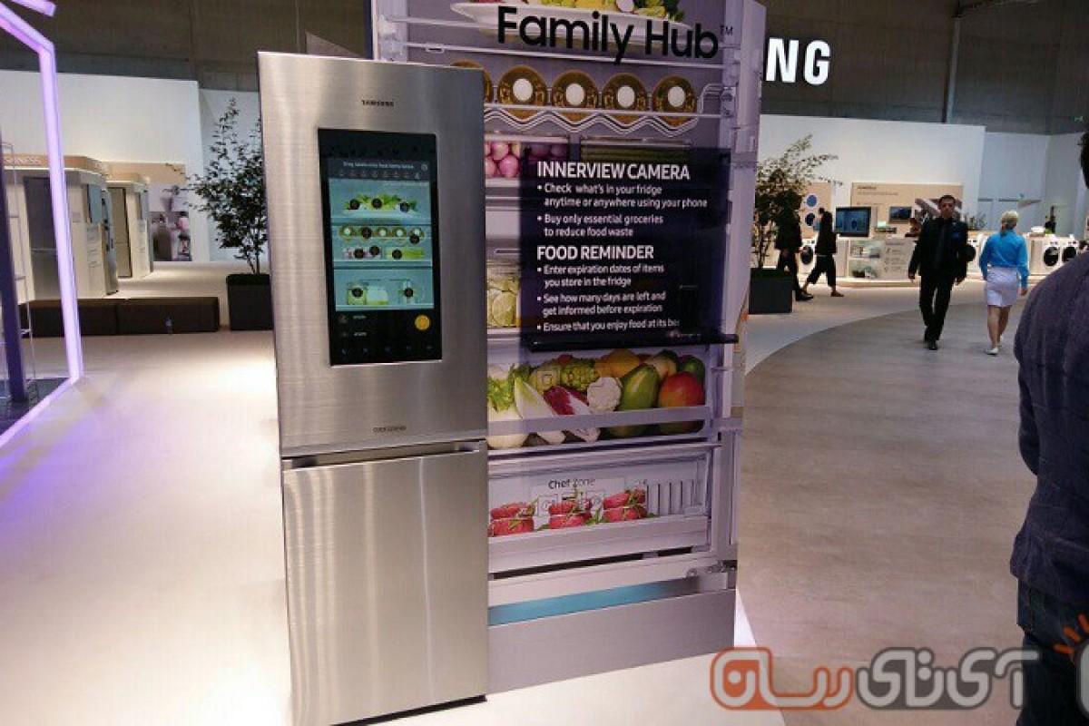 سامسونگ از یک یخچال Family Hub با نمایشگر ۲۱.۵ اینچی لمسی برای اروپا رونمایی کرد!
