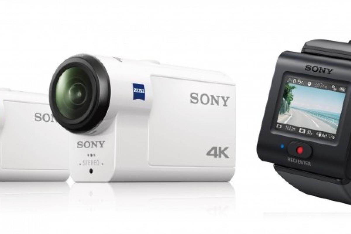 سونی از دو دوربین اکشن جدید رونمایی کرد