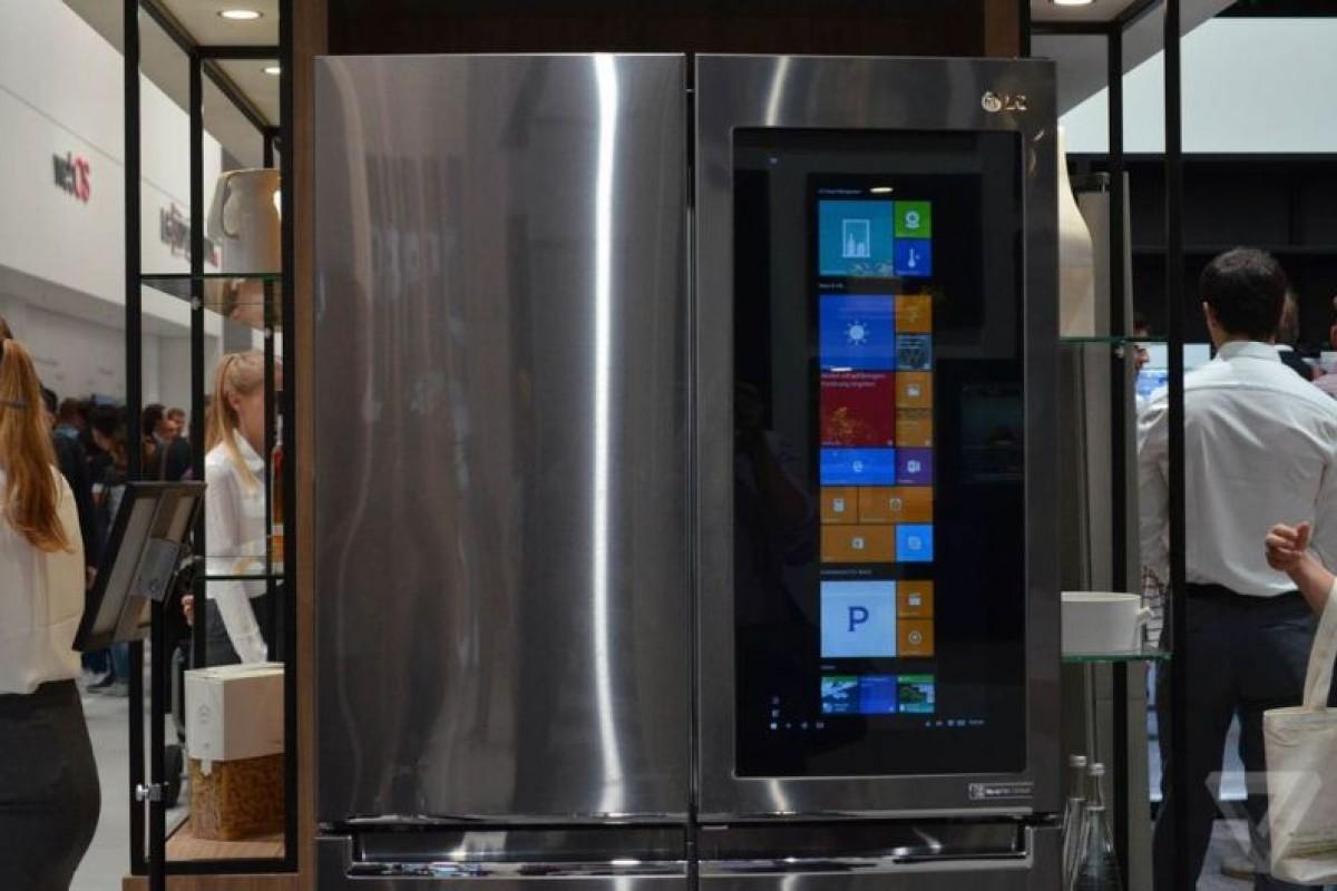 الجی و ساخت یخچال هوشمند مجهز به ویندوز ۱۰