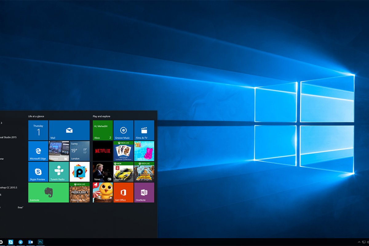 جدیدترین آپدیت ویندوز ۱۰ امکان پوشهبندی برنامهها در منو استارت را فراهم میکند