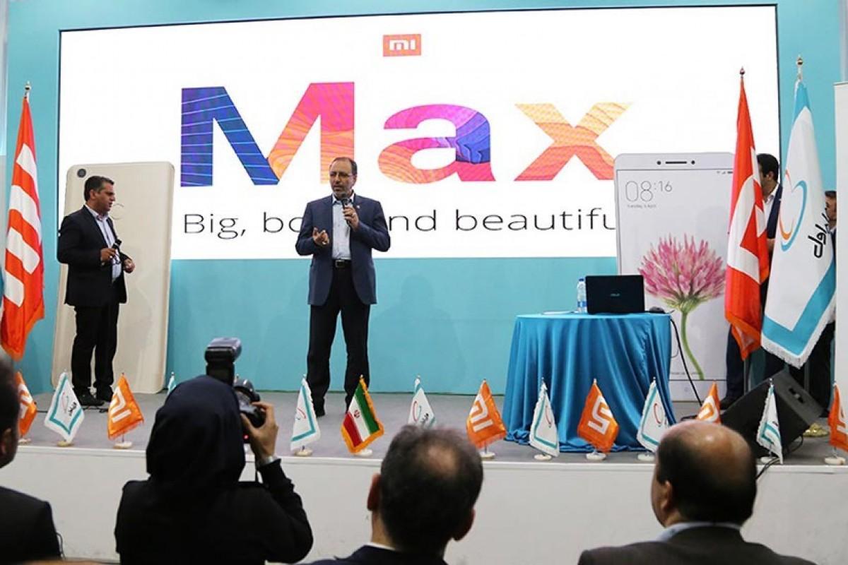 گوشی شیائومی Mi Max در ایران رونمایی شد