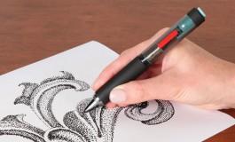 با این قلم لرزان نقاشیهای نقطهای زیبا بکشید!