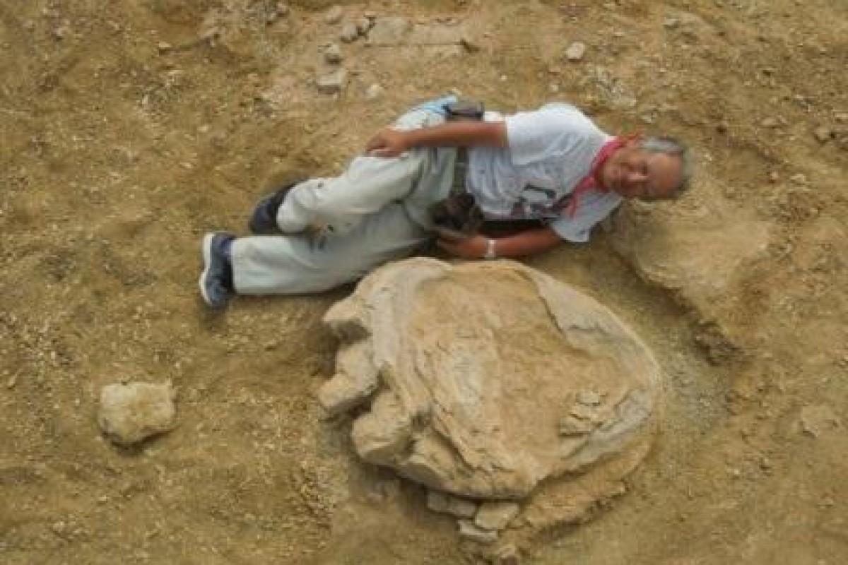 بزرگترین ردپای دایناسور در صحرای مغولستان پیدا شد!