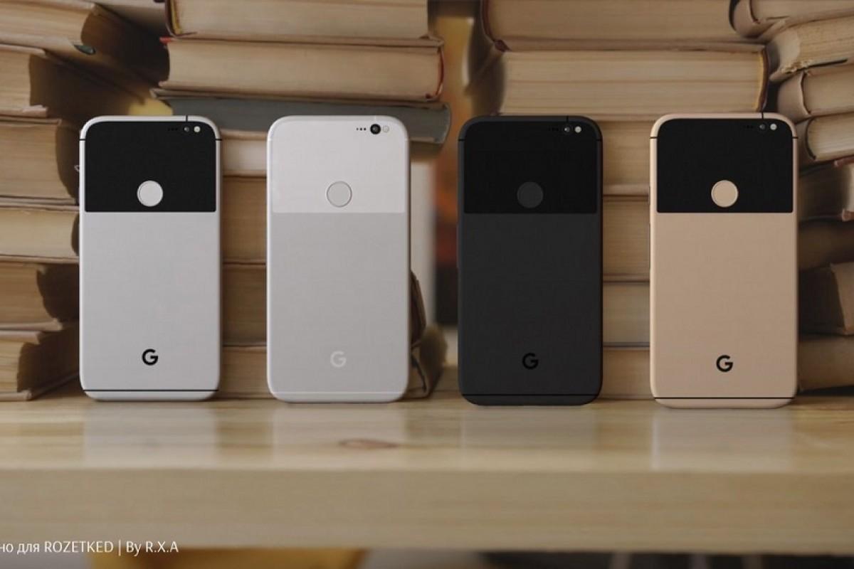 انتشار رندرهایی جدید از گوگل پیکسل و پیکسل XL