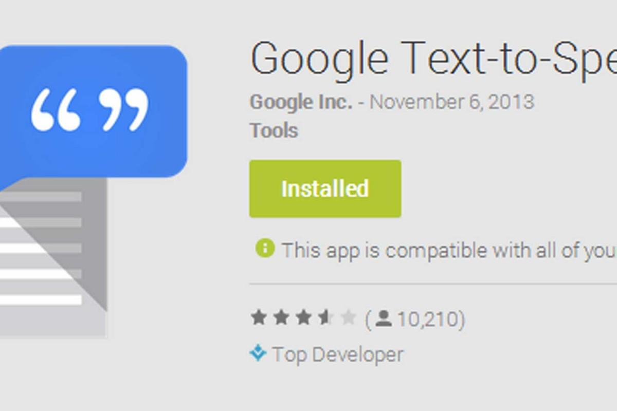 تبدیل Google TTS به موتور پیشفرض تبدیل متن به گفتار در گوشیهای سامسونگ