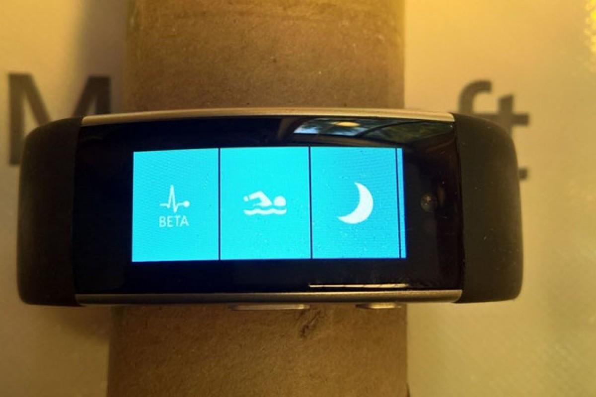 تصاویر دستبند هوشمند مایکروسافت بند ۳ منتشر شد