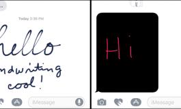 آموزش استفاده از قابلیت دیجیتال تاچ و ارسال پیام دست نوشته در iOS 10