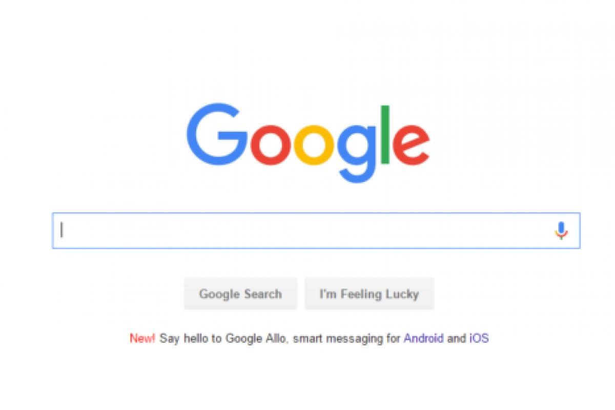 گوگل تبلیغ پیامرسان Allo را در صفحه اول موتور جستجویش قرار داد!