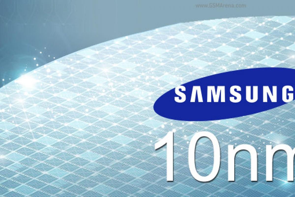 سامسونگ تولید انبوه چیپستهای ۱۰ نانومتری را آغاز کرد