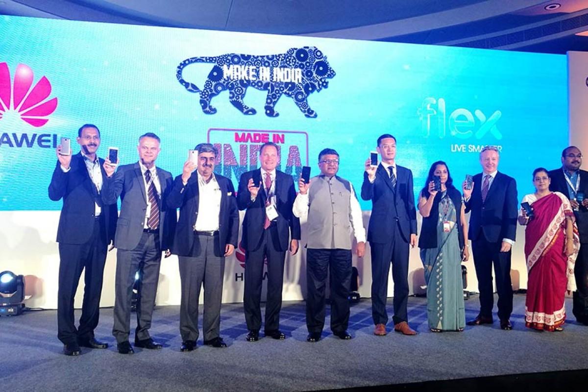 ساخت گوشیهای هواوی در هند آغاز شد