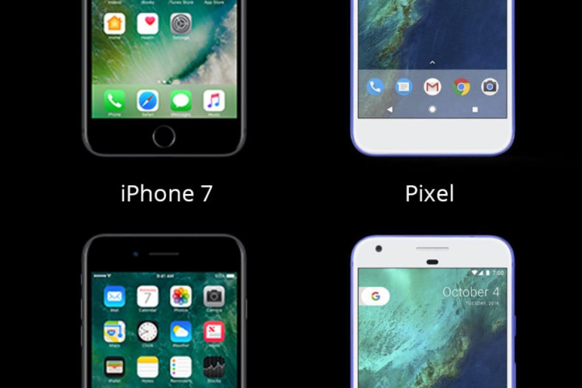 تماشا کنید: مقایسه کیفیت دوربین آیفون ۷ با گوگل پیکسل