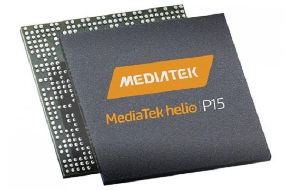 عرضه پردازنده Helio P15 توسط مدیاتک