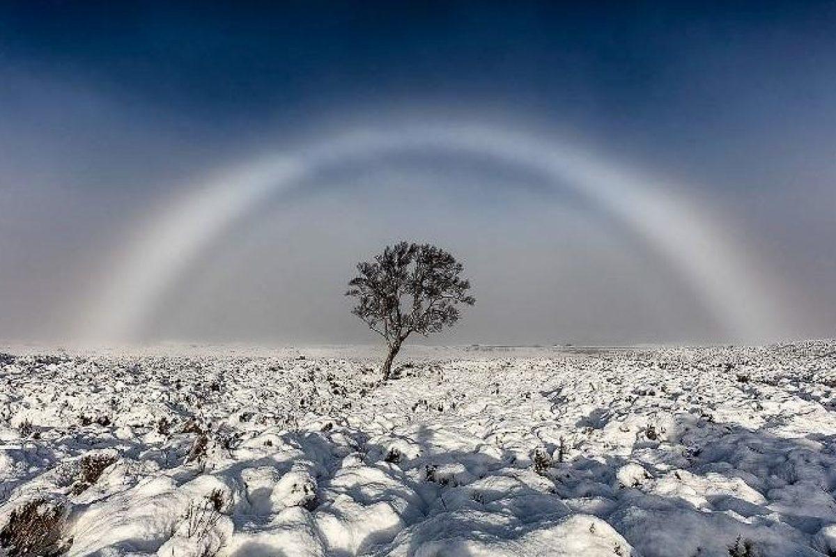 یک رنگین کمان سفید در اسکاتلند مشاهده شد!