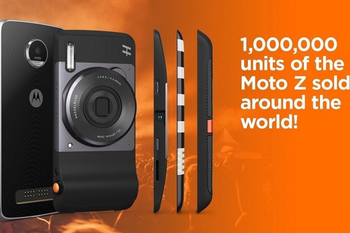موتورولا توانست یک میلیون نسخه از موتو Z را به فروش برساند