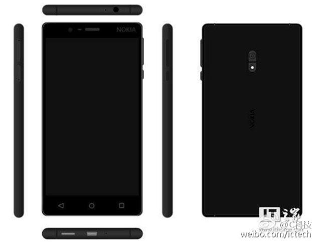Nokia-D1C-in-Black تصاویر رندر شده از اسمارت فون اندرویدی نوکیا D1C