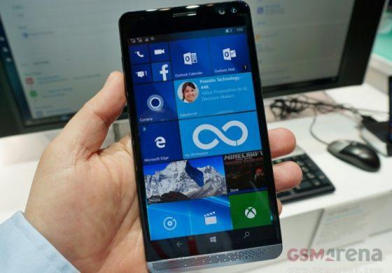 مایکروسافت و اچپی در حال کار بر روی یک اسمارتفون مجهز به ویندوز ۱۰ موبایل هستند